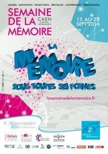Affiche Semaine de la mémoire