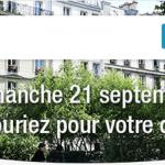 Dimanche 21 septembre 2014 : opération «Souriez pour votre quartier» avec ma-residence.fr