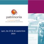 25 et 26 septembre : convention annuelle des professionnels du Patrimoine, la Silver économie mise en avant