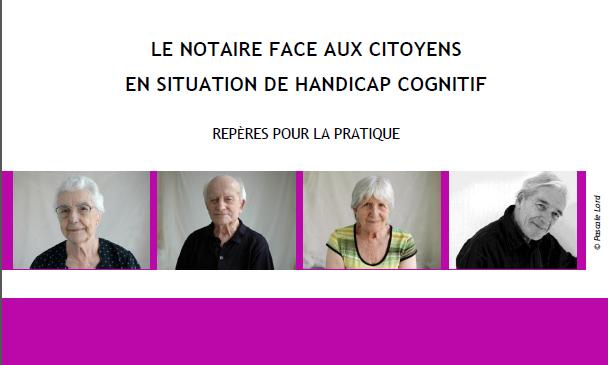 Mederic Alzheimer- Le NOTAIRE face aux citoyens en situation de Handicap Cognitif