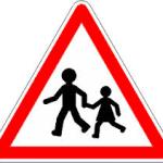 panneau enfant école