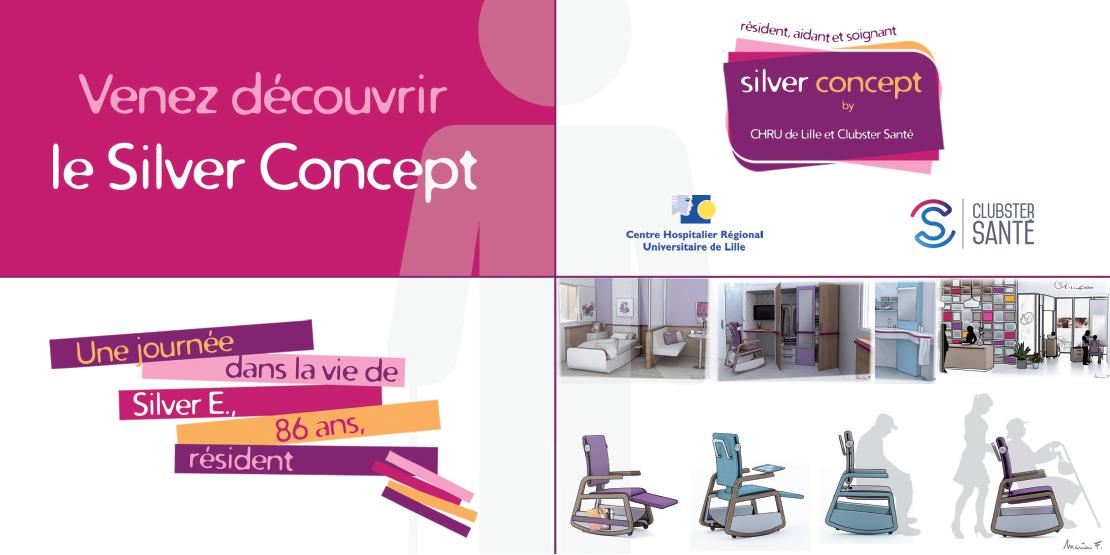 le crhu de lille et clubster sant pr sentent le silver concept silver economie. Black Bedroom Furniture Sets. Home Design Ideas