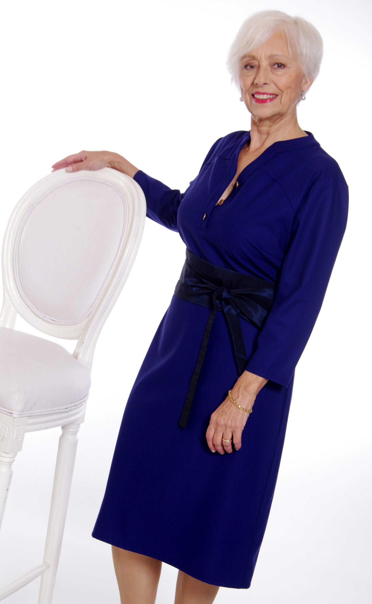 Robe de cocktail pour senior