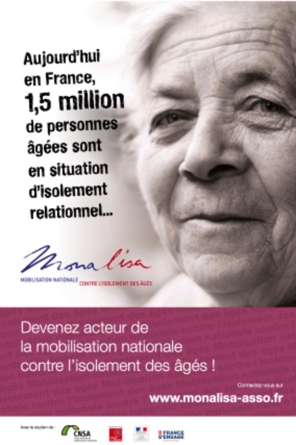 MONALISA Campagne de lutte contre l'isolement