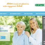 Axeo services nouveau site