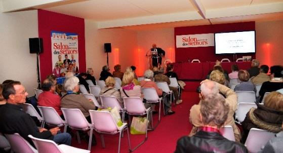 Conférence Salon des seniors