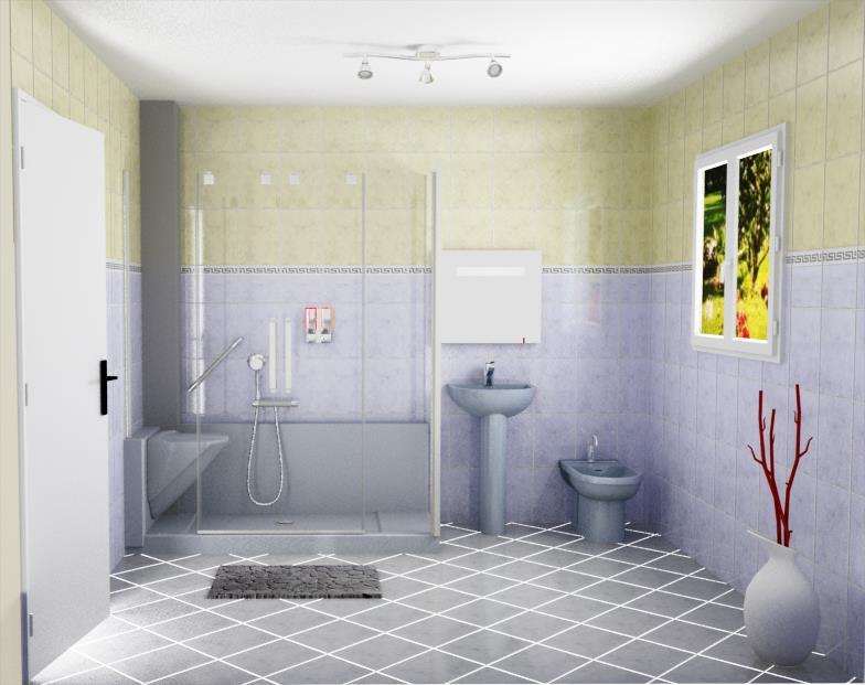 Easyshower un configurateur 3d pour accompagner les for Simulation salle de bain 3d