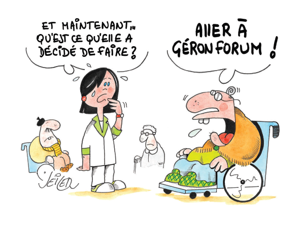 Illustration GERONFORUM 2015