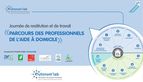 Journée Autonomlab Parcours des Professionnels de l'aide à domicile