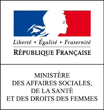 Logo Ministère des affaires sociales de la santé et des droits des femmes