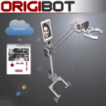 ORIGIBOT : un robot de téléprésence doté d'un bras mécanique