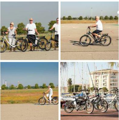 Tomybike Vélo électrique pour seniors