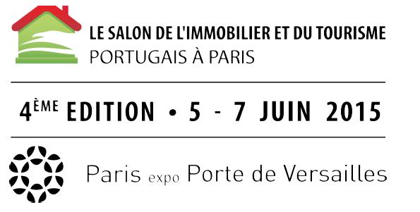 Logo Salon de l'Immobilier et du tourisme Portugais à Paris