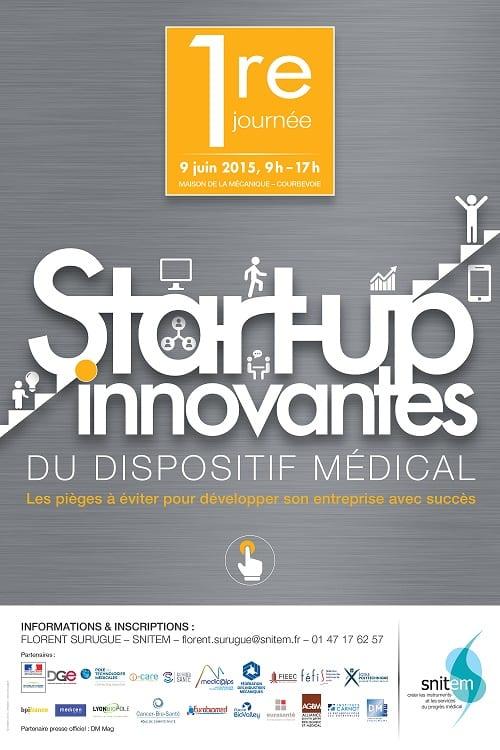 SNITEM Journée Start-up innovantes du dispositif médical