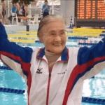 centenaire record du monde nage