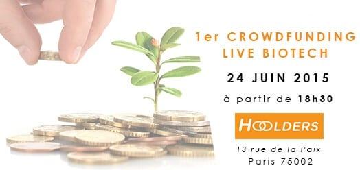 1er crowdfunding Live Biotech