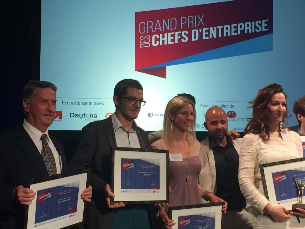 Alexis Roche Grand Prix des chefs d'entreprise