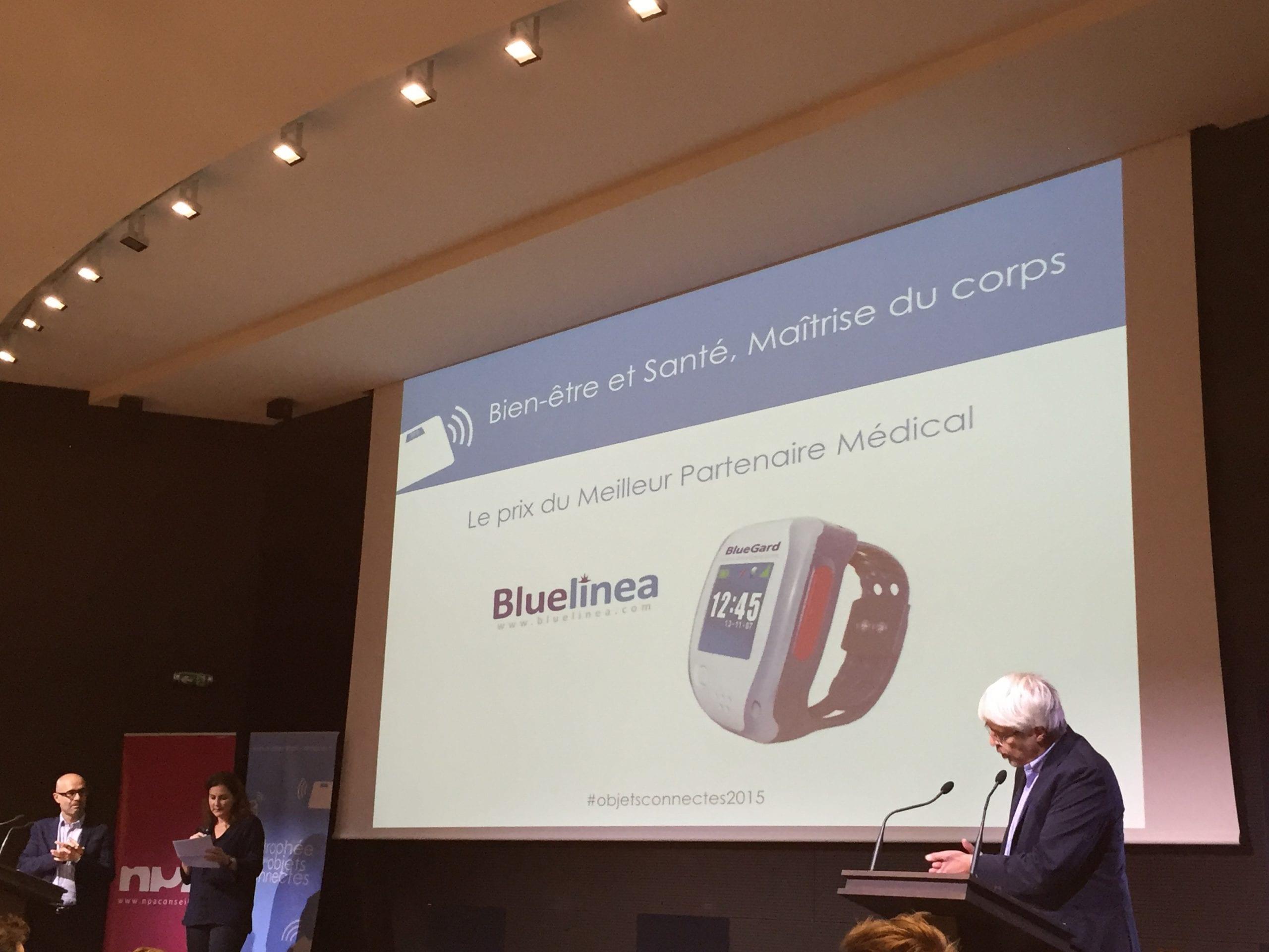 Bluelinea laur at du prix du meilleur partenaire m dical au troph e des objets connect s - Prix du meilleur architecte ...