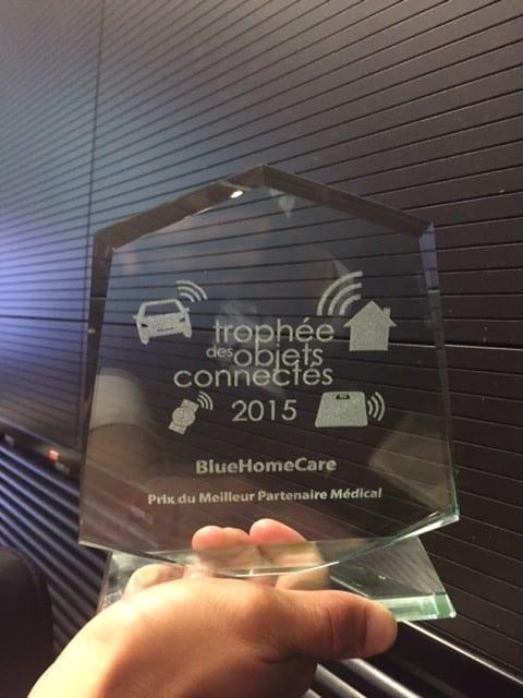 Bluelinea Prix Trophée de la Santé Connectée