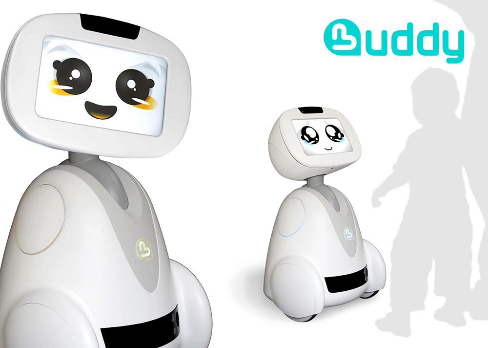 Buddy Robot-Compagnon- Ova Design