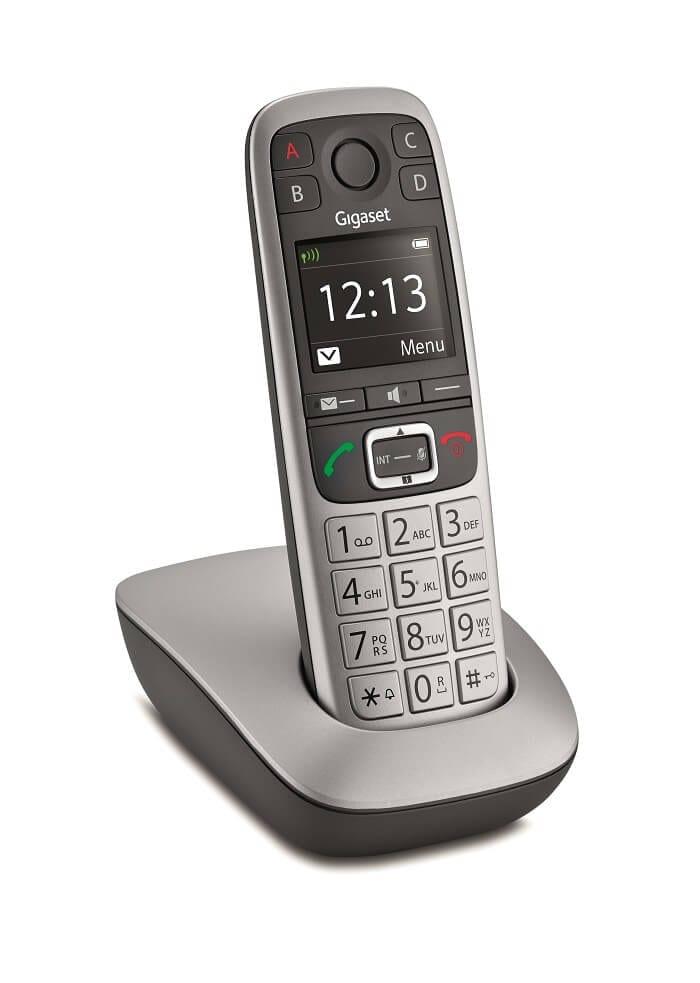 Gigaset_E550_Incliné- Téléphone pour seniors