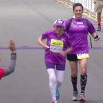 Harriett Thompson Record du monde Marathon