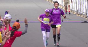 Harriett Thompson Record du monde Marathon
