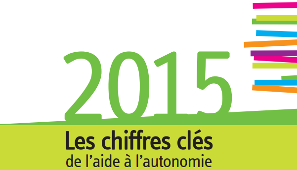 Les chiffres clés de l'aide à l'autonomie-2015