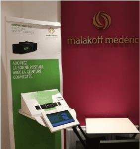 Malakiff Mederic - ceinture connectée