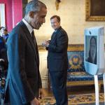 Robotique : Le président Obama accueille un robot de téléprésence à la Maison Blanche