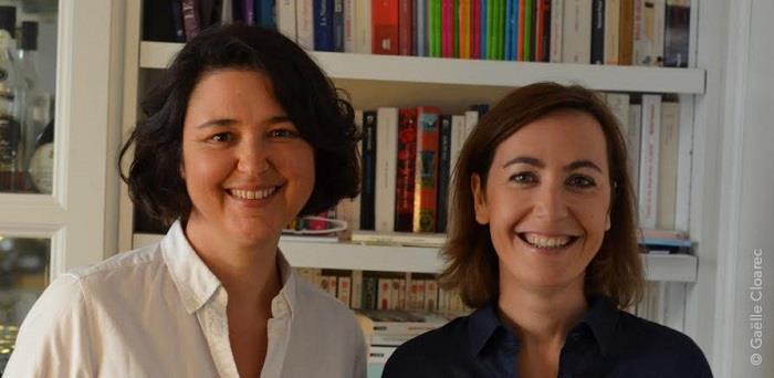 Marie-Pierre Desbons et Pascale Besse, fondatrices de Carion