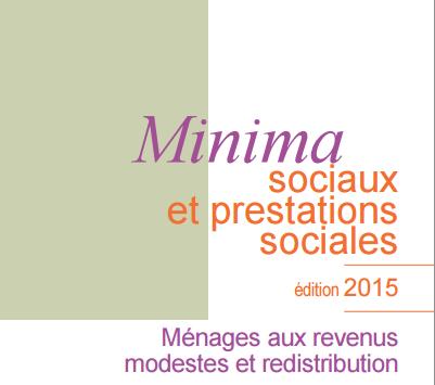 DREES Minima sociaux et prestations sociales édition 2015