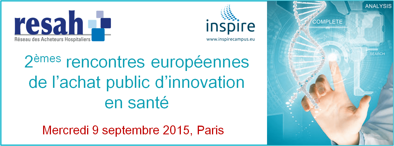 Resah rencontres européennes de l'achat public d'innovation en santé