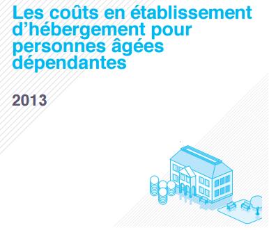 CNSA Rapport coûts en Ehpad 2013