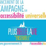 «Plus belle la vie ensemble» : la campagne du gouvernement pour sensibiliser à l'accessibilité universelle