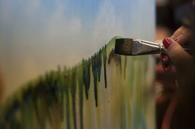art-thérapie, peinture