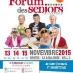 Du 13 au 15 novembre 2015 : 2ème édition du Forum des Seniors Atlantique à Nantes