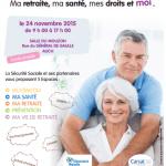 Mardi 24 novembre 2015 : 1er Forum « Ma retraite, ma santé, mes droits et moi » à Auch