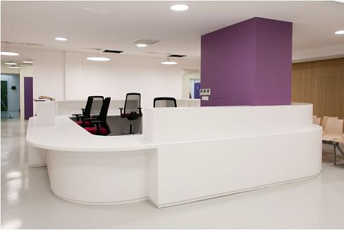 ©la Mutuelle Générale Hall d'accueil du centre de santé Broca