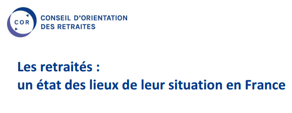 COR - Etat des lieux retraite en France