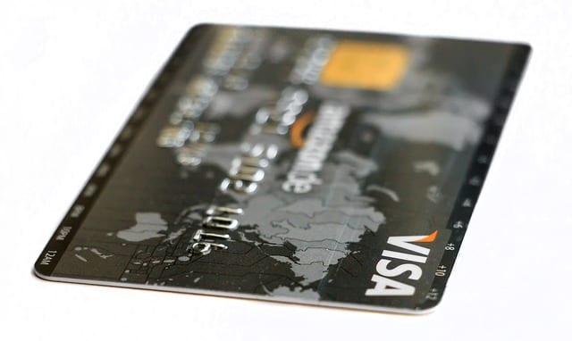 Carte de crédit - achat- shopping