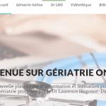 Alzheimer : lancement du site « Gériatrie Online »