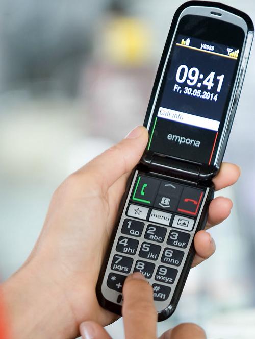 téléphone simplifié emporia