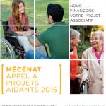 Du 1er février au 8 avril 2016 : Crédit Agricole annonce son 6ème appel à projets aidants