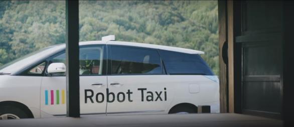 Robot Taxi Japon