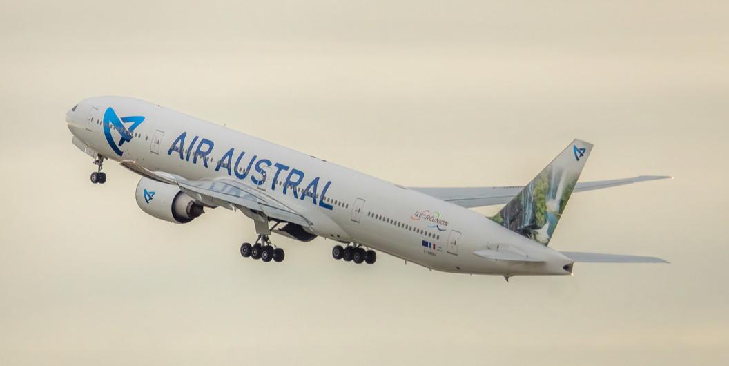 Compagnie Air Austral - Réunion - Silver économie