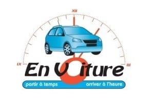 EN VOITURE logo