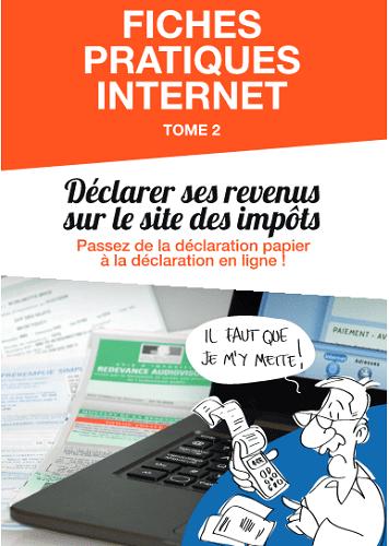 Fiche pratique déclaration impots sur internet - seniors