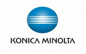 Logo Konika Minolta - Silver économie