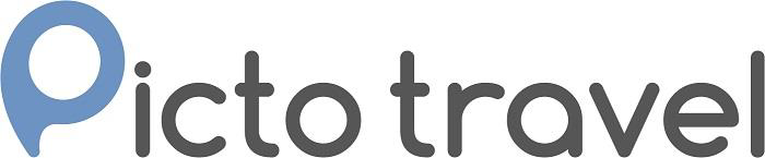 Picto travel logo